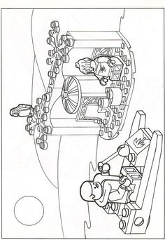 Lego Coloring Pages 13