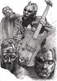 Official site for Slipknot Paul Gray, Mask Tattoo, Grey Art, Music Heals, Slipknot, Psychobilly, Detailed Image, Music Bands, Metal Art