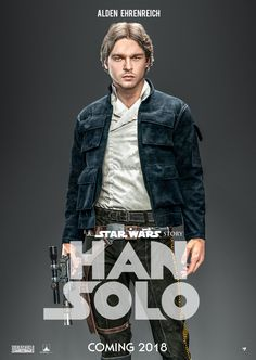 "imthenic: "" Star Wars: Han Solo Movie Poster by nei1b """
