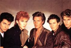 I loved Duran Duran as a kid!... AND STILL DO! <3