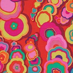 GP122 Red Kite Tails by Kaffe Fassett