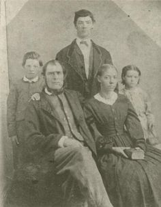 James William Evans (1814-1883), his wife Mary Eliza Hoggard, and their children William, John and Mary Evans. Mary Eliza Hoggard was a descendant of the free African American Cobb and Bazemore families of Bertie County, North Carolina. James William Evans was from Dorchester County, Maryland. http://mulattodebate.forumchitchat.com/post?id=3250308 http://mulattodiaries.wordpress.com/2010/06/21/black-mother-white-children/