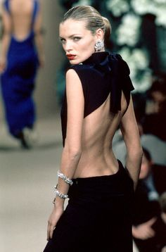 Yves Saint Laurent - Haute Couture - Spring / Summer 1999 | Esther Cañadas