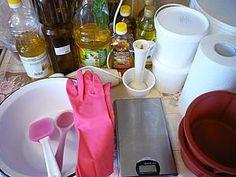 Варим сами натуральное щелочное хозяйственное мыло | Ярмарка Мастеров - ручная работа, handmade