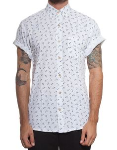 Handsome Me Anchor Shirt - PASAR FASHION ONLINE