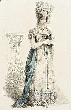 Fashion Plate (Court Dress)  Rudolph Ackermann  July 1, 1820