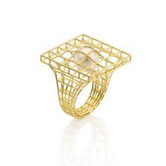 Antonio Bernardo - Structure with Pearl Ring