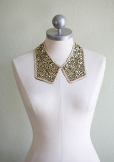 sequined collar // Ruche