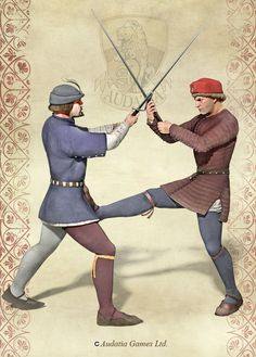 Medieval Swordfighting by Undermound on DeviantArt