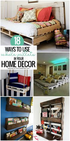 Remodelaholic | 37 Whole Pallet Projects, AKA Things You Can Build Without Taking a Pallet Apart
