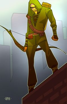 Green Arrow by J.C. Grande