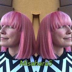 Hair Color How To: Peachy Pink by Margarita Ford