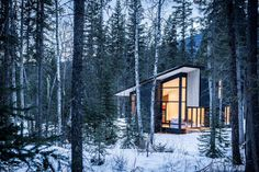 These 8 Canadian Cabins For Rent Will Help You Connect With Nature - Dwell #vacation #rental #canada