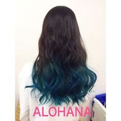 ALOHANA @alohana.hair ブルーグラデー...Instagram photo | Websta (Webstagram)