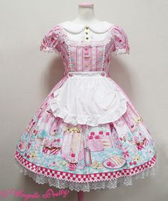 Lolibrary | Angelic Pretty - OP - Diner Doll OP