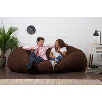 5 Foot Memory Foam Bean Bag Chair Royal Blue Micro Suede Bean Bag Chair Bean Bag Gaming Chair Patio Chair Cushions