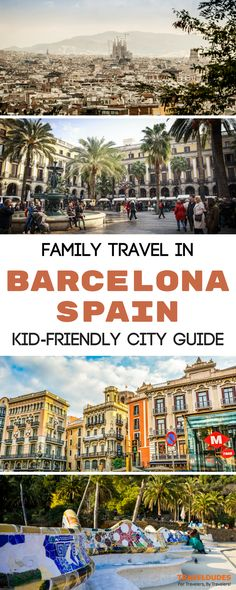 A family-friendly travel guide for exploring Barcelona, Spain. Best things to do and see in the city with kids, from Park Güell to the Chocolate Museum + top tours and restaurants. Family travel in Europe. | Travel Dudes Travel Community #Barcelona #Spain
