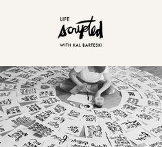 An awesome brush lettering class on line!
