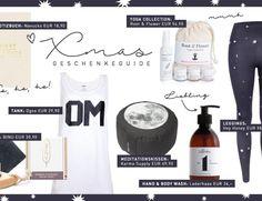 Weihnachtsgeschenke Weihnachten 2016 Geschenke Tipps Giftguide Xmas Produkte für Yogistars Yoga