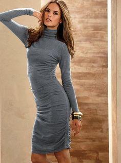 VICTORIA'S SECRET / Moda International Merino wool Knitted dress size S #VictoriasSecret