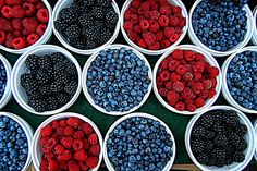 I loooove berries. I'm so glad they're healthy. Of course, I also wish doughnuts and muffins were healthy, but you can't have everything! :)