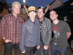 Images and video from @Offspring album release event.