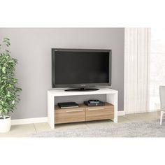 Elegant White Tv Stand Led