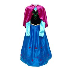 Anna From Frozen Costume. Alexa wore this to the movie.