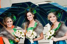 Peacock theme #bridesmaids - Creative Image Photography