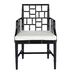 Wisteria Chinese Chippendale Style Chair