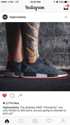 """Overkill Unveils adidas NMD """"Firestarter"""" I Highsnobiety Adidas Nmd R1 Primeknit, Shoe Goo, Fire Starters, Cole Haan, Adidas Originals, Adidas Sneakers, Oxford Shoes, Dress Shoes, Mens Fashion"""