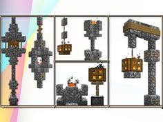 Minecraft: Build Tips & Tricks Using Fire Lighting! - YouTube