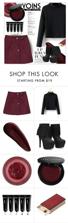 """""""Lipstick stains ~ Yoins 3"""" by hevsyblue2 ❤ liked on Polyvore featuring Surratt, Lipstick Queen, Bobbi Brown Cosmetics, OKA, women's clothing, women's fashion, women, female, woman and misses"""