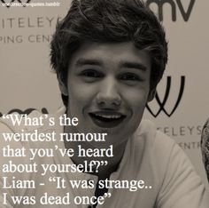 Oh Liam.. What are we going to do with you?