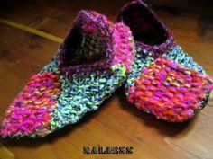 woolen slippers *the naliens* by nelixilen