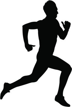 Running Silhouettes