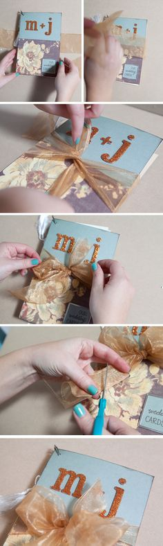 How to diy an adorable album to save special greeting cards how to diy an adorable album to save special greeting cards m4hsunfo