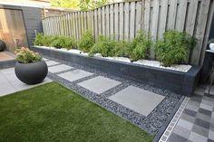 Garden Design Layout - New ideas Back Garden Design, Backyard Garden Design, Garden Landscape Design, Patio Design, Backyard Ideas, Modern Backyard Design, Modern Design, Modern Garden Design, Side Yard Landscaping