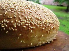 Muffuletta Bread from Food.com:   Great bread to make Linda's Muffuletta Sandwich New Orleans Style topped with Olive Salad.  You just gotta try one of these New Orleans Po Boys!  You'll be glad you did!    Preparation time includes rising time for dough.