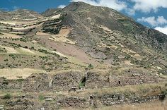 """Chavin de Huantar, Peru: This massive complex was erected over the span of a few centuries by the pre-Columbian Chavin people, who dwelled in the highlands of what is now Peru from about 900 to 200 B.C. The monuments include both an """"old temple"""" and """"new temple,"""" made of rectangular stone blocks and shaped like flat-topped pyramids. It incorporates elaborate carvings, passageways and water channels that may have been used for religious rituals."""