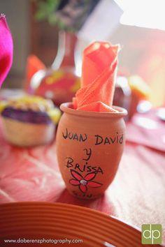 Rosa mexicano wedding
