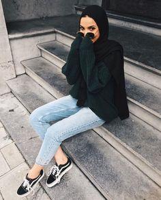 30  Cute Hijab School Outfits for Muslim Teen Girls