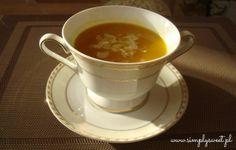 Zupa dyniowa. Przepis na http://simplysweet.pl/?p=1401
