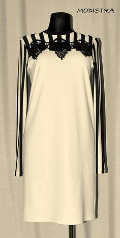 Angeli / Úpletové šaty s aplikáciou Bell Sleeves, Bell Sleeve Top, Angles, How To Make, Fashion Design, Tops, Women, Woman