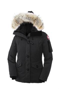 Canada Goose victoria parka outlet cheap - Parka navy capuche vraie fourrure Montebello Canada Goose pour ...