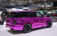 My dream car! Chrome pink range rover My dream car! Range Rover Sport, 2012 Range Rover, Pink Range Rovers, Range Rover Evoque, Special Air Service, Lamborghini Veneno, Bugatti Veyron, Rolls Royce, My Dream Car