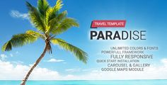 Hot Paradise - Travel Joomla Template ⠀ Introduction Hot Paradise is responsive Joomla template suitable for websites for travel agencies and tourist attractions and sites. It can also be used for different purposes because it contains a... ⠀ #beach #carousel #cmsthemes #googlemaps #hotthemes #joomla #joomlatheme #lightbox #sea #themeforest #tourism #business #blog #multipurpose #modern #hotel #responsive #travel #retail Joomla Templates, Wordpress Template, Best Wordpress Themes, Wordpress Plugins, Custom Folders, Paradise Travel, Theme Template, Create Website, Travel Agency