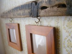 UpCycled Wood Photo Frames mounted on by WoodCrafterCreations, $30.00