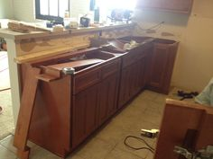 Almost ready for the granite counter tops #BridgeviewApartments