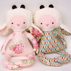 SALE Gertie Goat PDF Doll Pattern. $7.70, via Etsy.